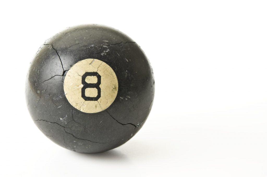 Image of an 8 ball